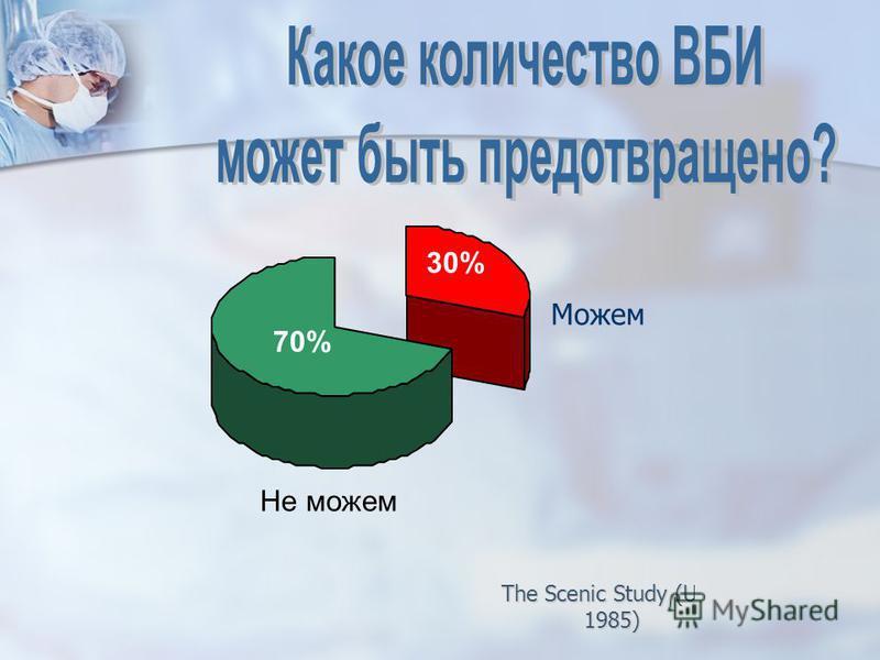30% 70% Можем Не можем The Scenic Study (USA 1985)