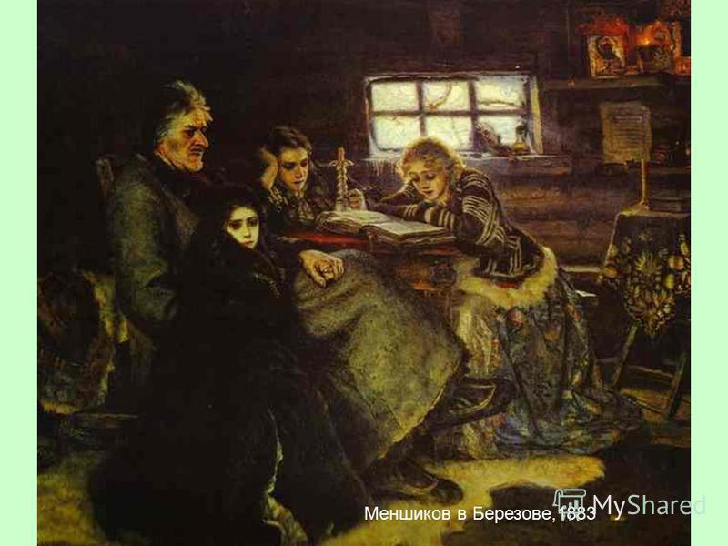 Меншиков в Березове,1883