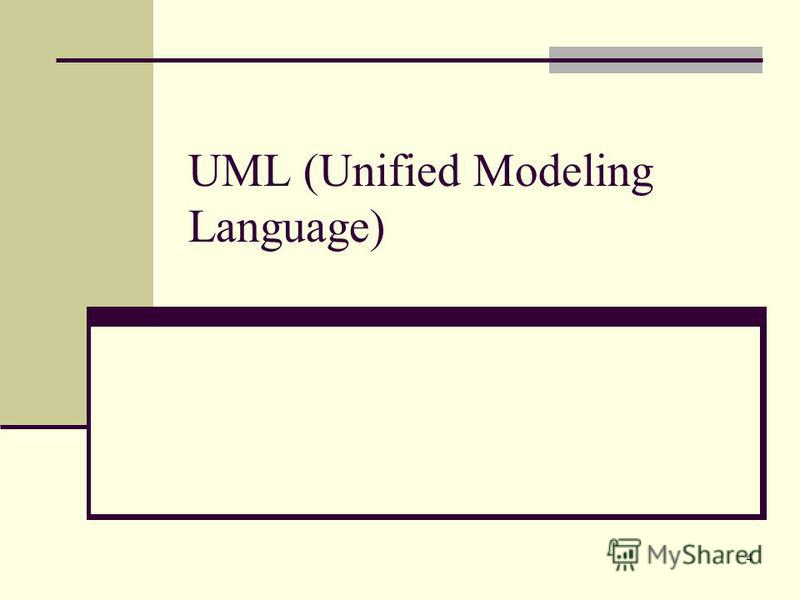 4 UML (Unified Modeling Language)