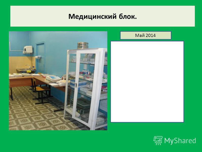 Медицинский блок. Декабрь 2013Май 2014