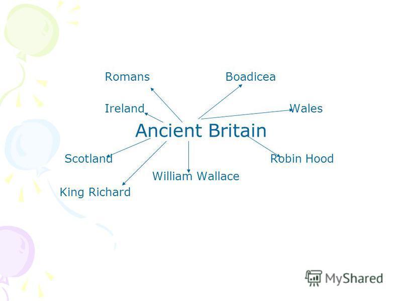 RomansBoadicea Ireland Wales Ancient Britain Scotland Robin Hood William Wallace King Richard