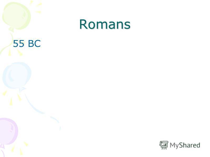 Romans 55 BC
