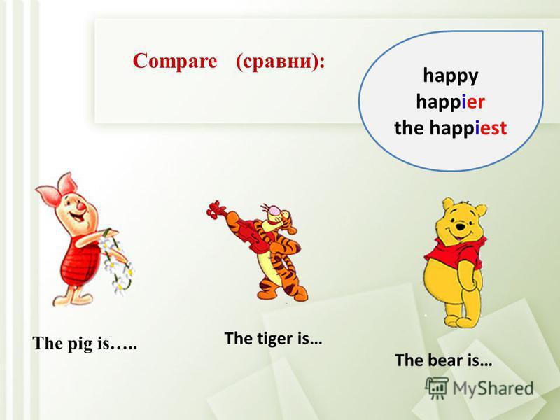 Непроизносимая немая е опускается и прибавляется -er или -est: Особенности правописания степеней сравнения прилагательных nice - nicer - (the) nicest large - larger - (the) largest