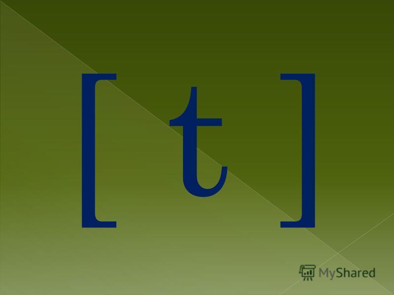 [ t ]