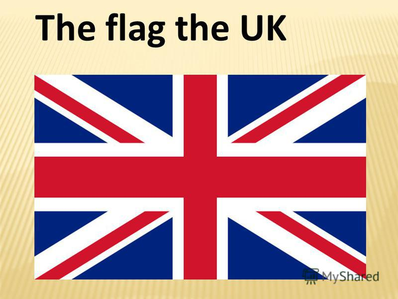 The flag the UK