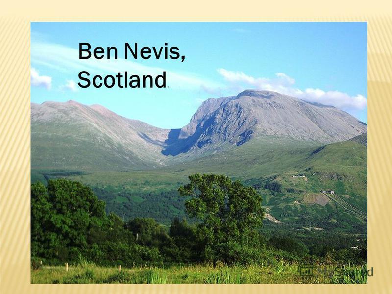 Ben Nevis, Scotland.