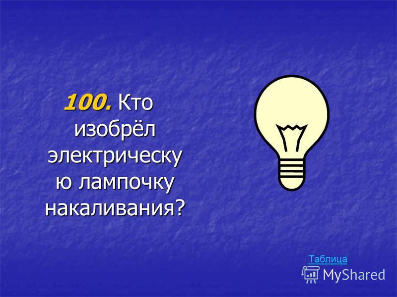 500. Он открыл один из важнейших законов электричества в 1785 году, используя для этого крутильные весы. Приём, использованный им, лишний раз доказывает, что изобретательность человеческого ума не знает границ. Таблица