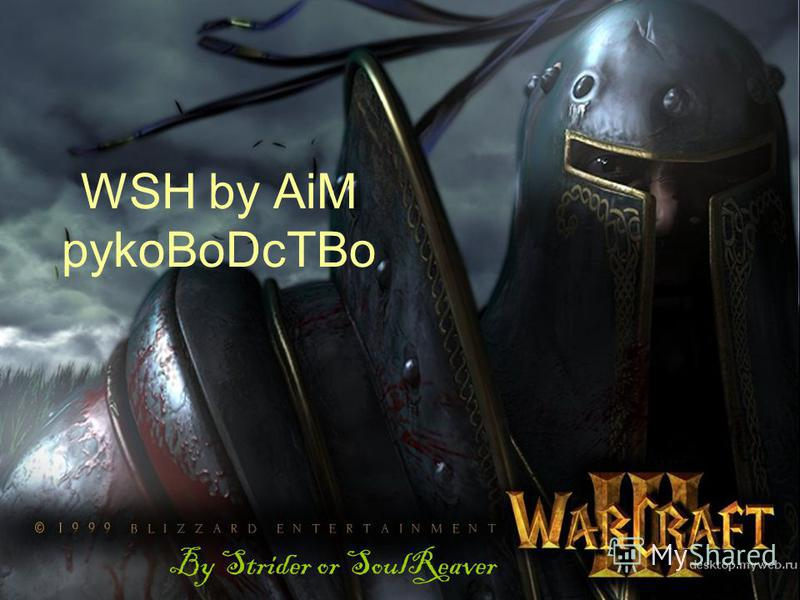 WSH by AiM pykoBoDcTBo By Strider or SoulReaver