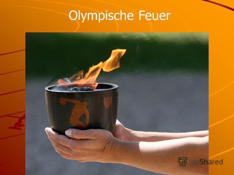 Olympische Feuer