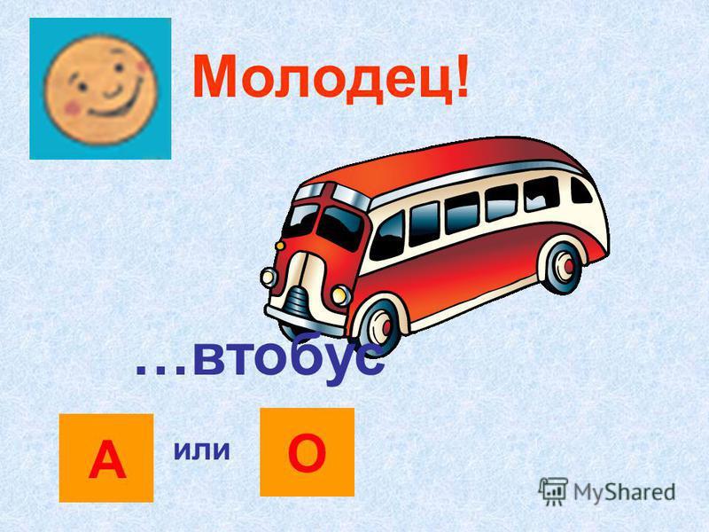 Молодец! ОА или Пар…воз