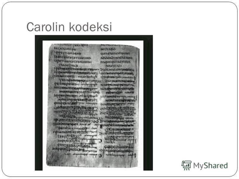 Carolin kodeksi