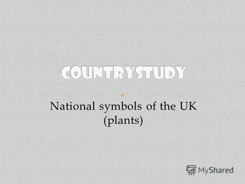 National symbols of the UK (plants)