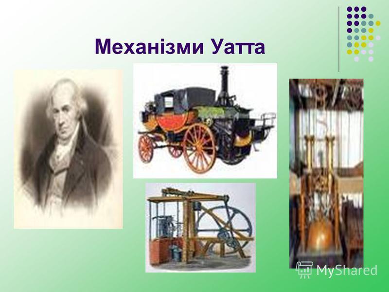 Механізми Уатта