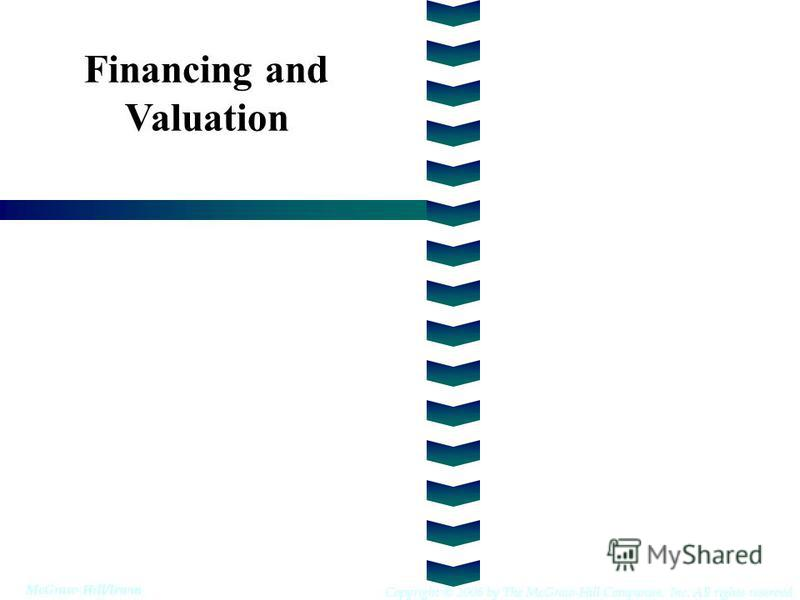 Financing and Valuation Copyright © 2006 by The McGraw-Hill Companies, Inc. All rights reserved McGraw-Hill/Irwin
