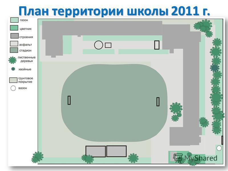 План территории школы 2011 г.