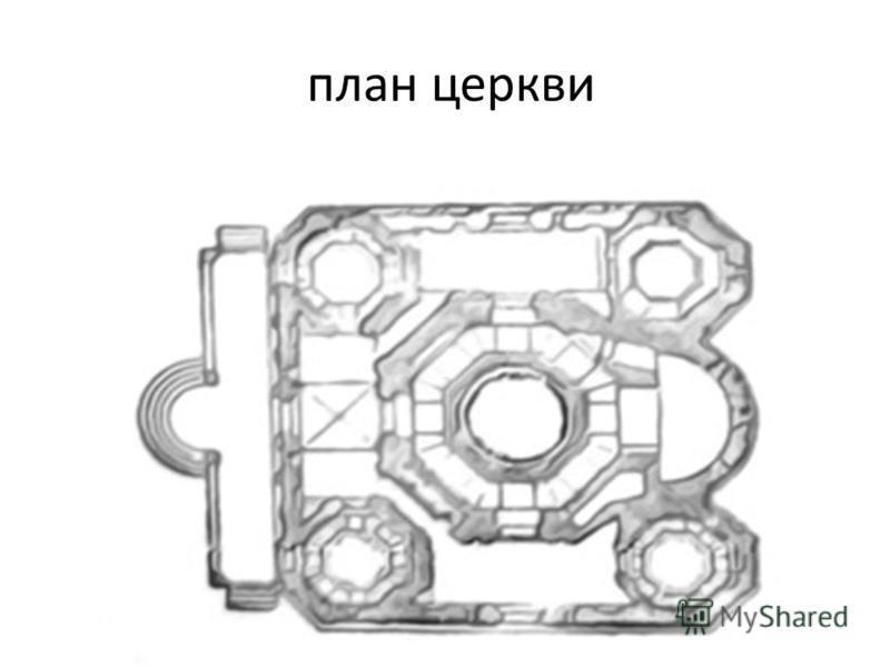план церкви