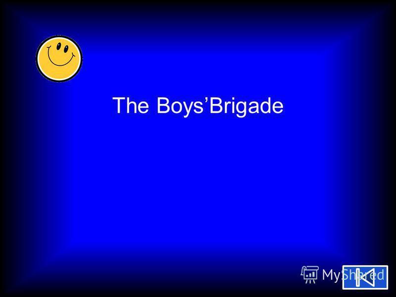 The BoysBrigade