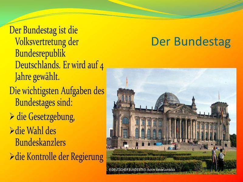Der Bundestag