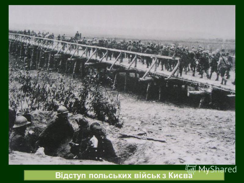 Відступ польських військ з Києва