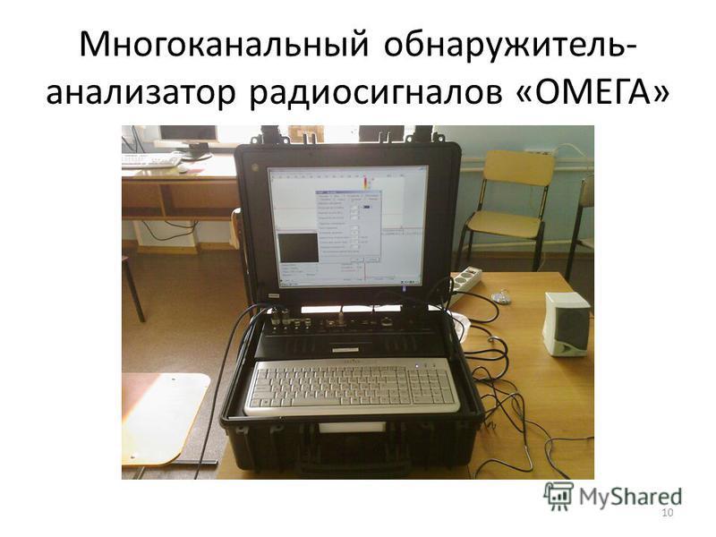 10 Многоканальный обнаружитель- анализатор радиосигналов «ОМЕГА»