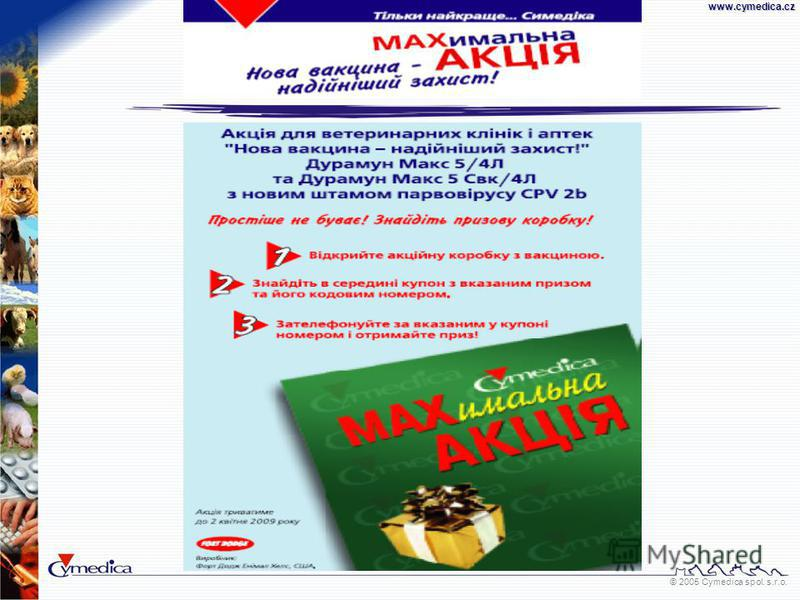 © 2005 Cymedica spol. s.r.o.www.cymedica.cz