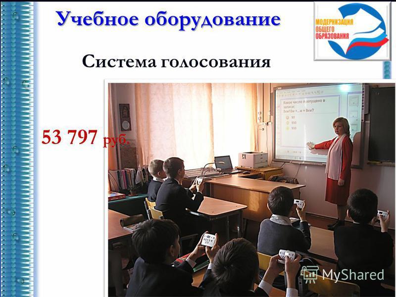 Учебное оборудование Система голосования 53 797 руб.
