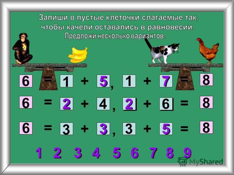+6 8 + ++ ++ 6 6 8 8 1 2 2 5 5 7 7 1 5 5 2 24 3 3 33 6 = = = = = =,,, 7 7 5 5 2 2 3 3 1 1 4 4 6 6 8 8 9 9