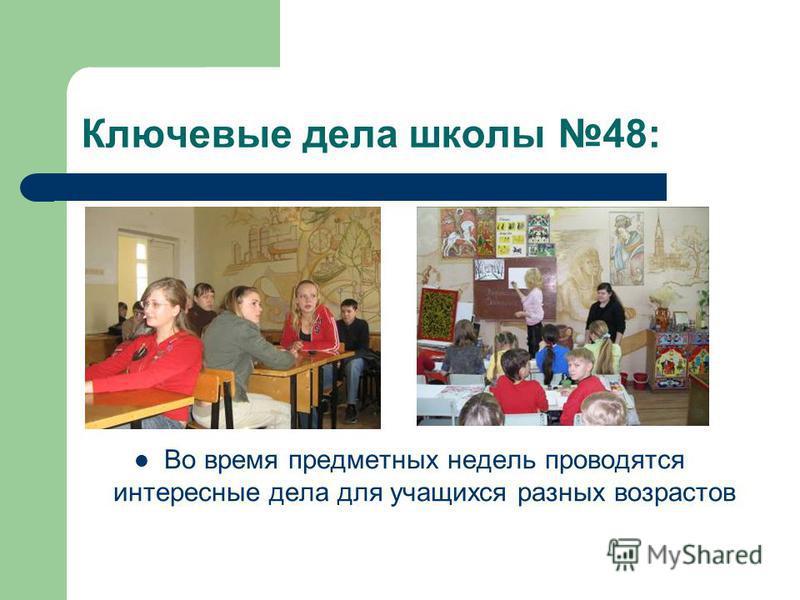 Ключевые дела школы 48: В День Наук 25 января проводится познавательная игра для старшеклассников Татьянин день.