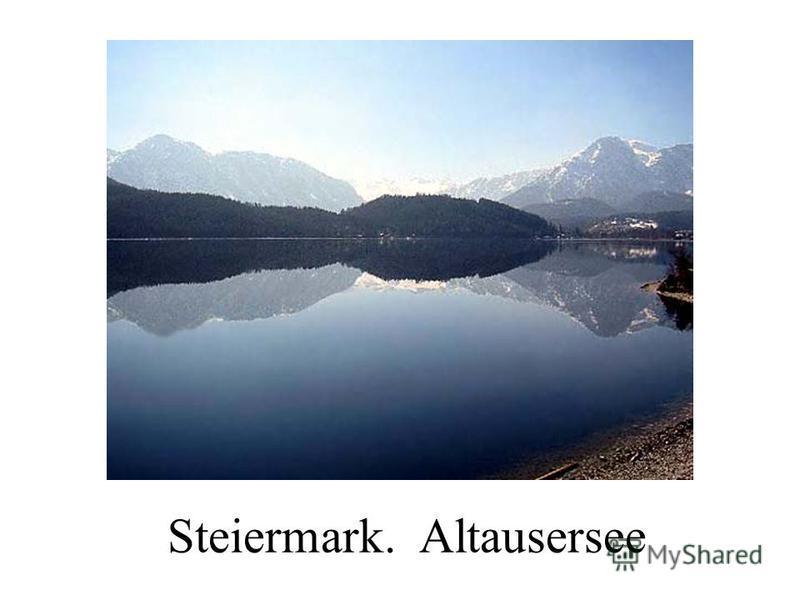 Steiermark. Altausersee