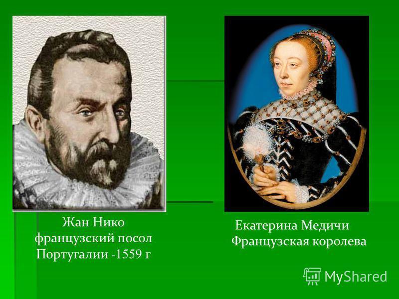 К концу XVI века табак распространился по всей Европе В Россию табак был завезен в 1585 году