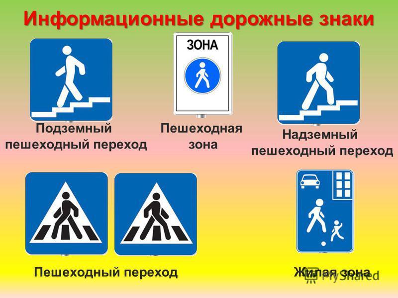 Предписывающие дорожные знаки Велосипедная дорожка Пешеходная дорожка