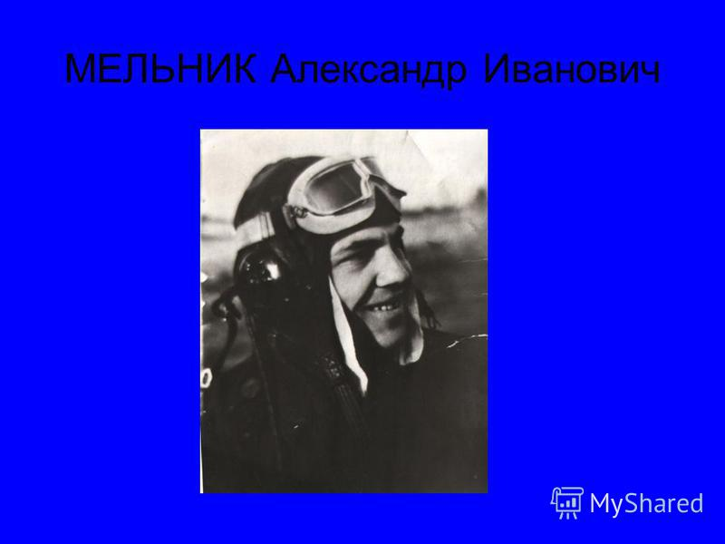 МЕЛЬНИК Александр Иванович