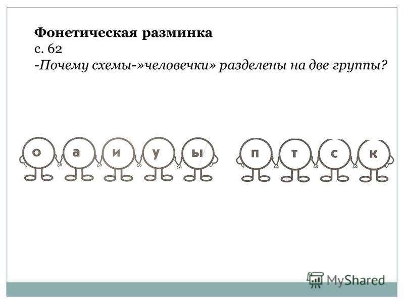 ПРОГРАММА 2100 Урок 36 Упражнение в чтении слов, предложений, текста с изученными буквами