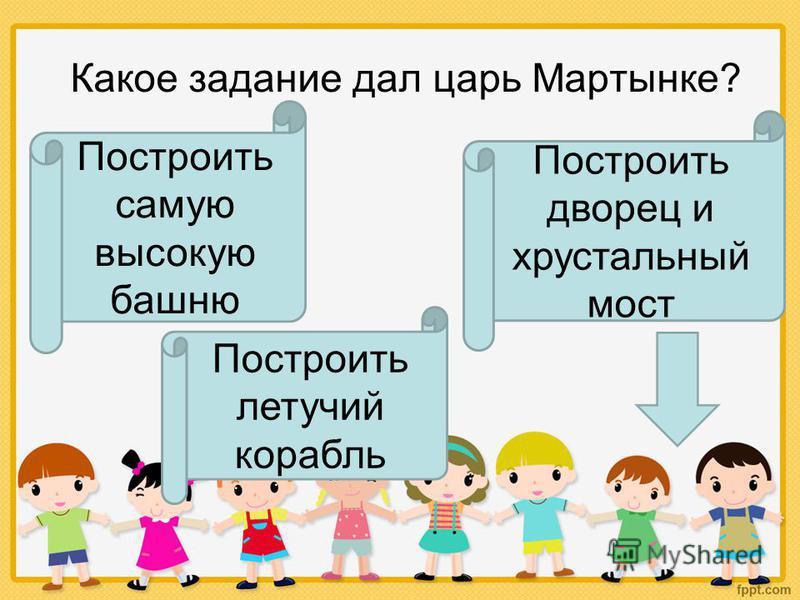 Как звали главного героя сказки «Волшебное кольцо» Петруня Касьянка Мартынка