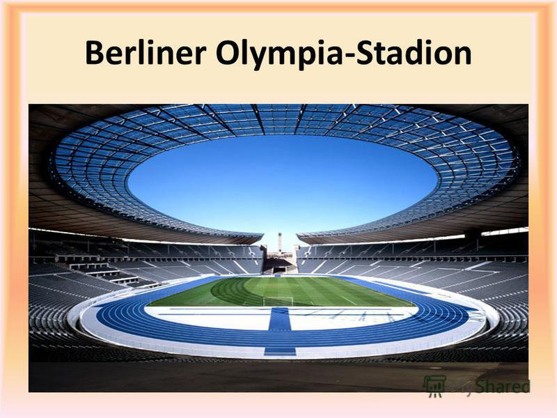 Berliner Olympia-Stadion