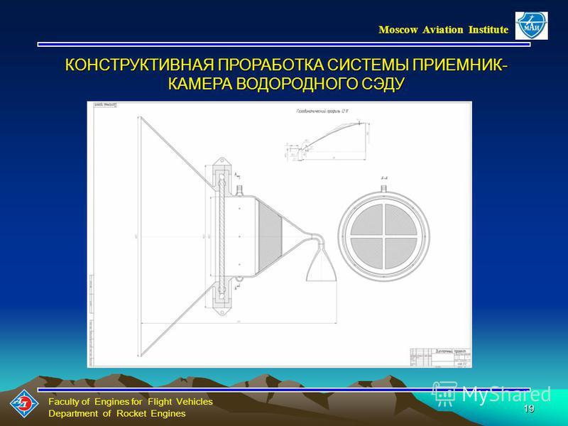 Faculty of Engines for Flight Vehicles Department of Rocket Engines Moscow Aviation Institute 18 Зависимость массы полезного груза от времени выведения на ГСО