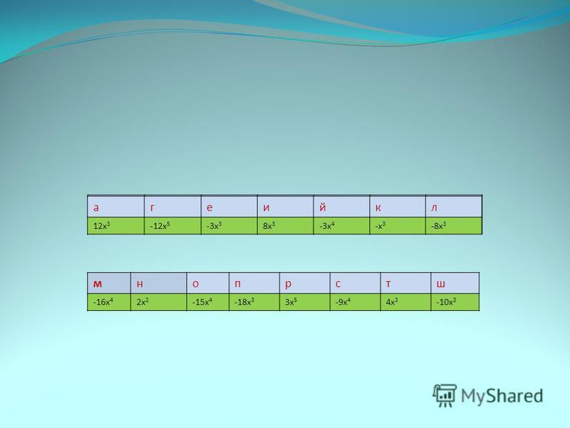 агеийкл 12 х 3 -12 х 5 -3 х 3 8 х 3 -3 х 4 -х 3 -8 х 3 мнопрстш -16 х 4 2 х 2 -15 х 4 -18 х 3 3 х 5 -9 х 4 4 х 3 -10 х 3 агеийкл 12 х 3 -12 х 5 -3 х 3 8 х 3 -3 х 4 -х 3 -8 х 3