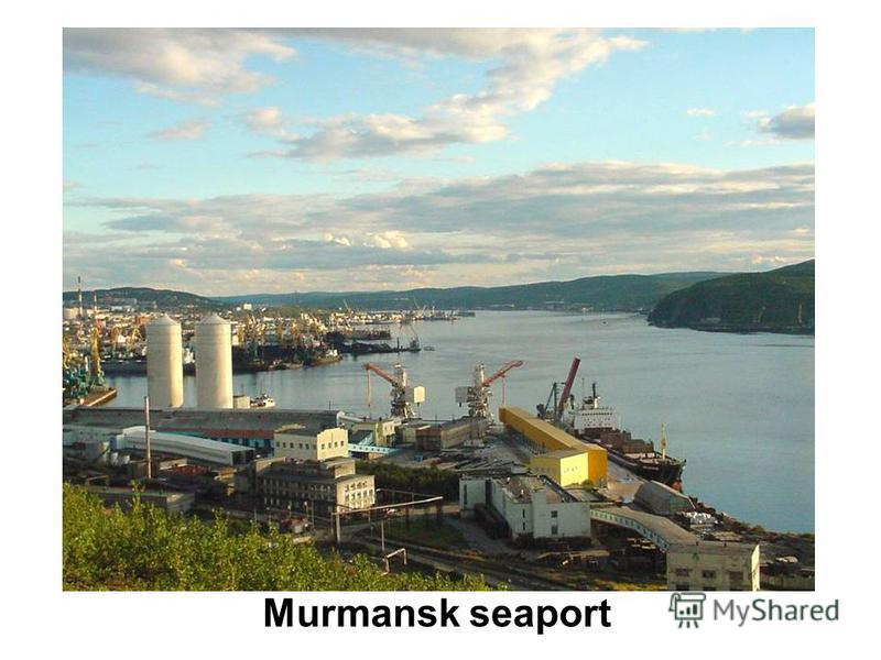 Murmansk seaport