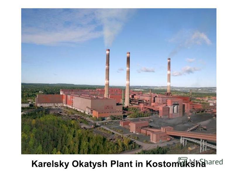 Karelsky Okatysh Plant in Kostomuksha
