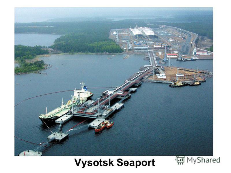 Vysotsk Seaport
