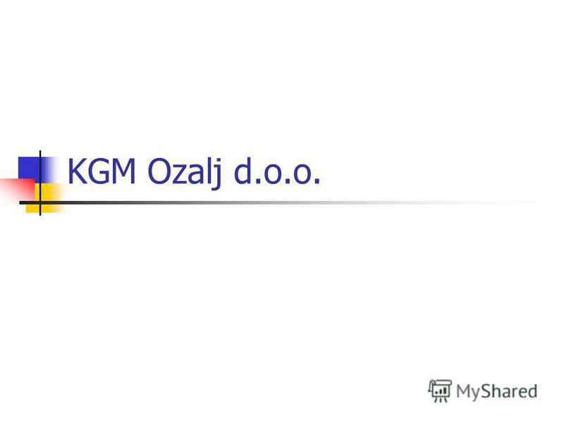 KGM Ozalj d.o.o.