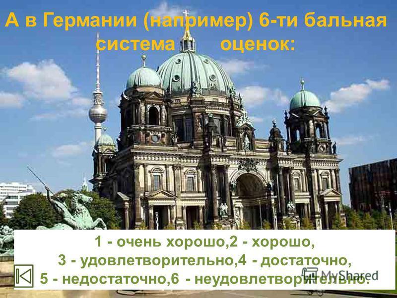 В школах России 5-балльная система оценки знаний учащихся: 5 отлично, 4 хорошо, 3 удовлетворительно, 2 плохо, 1 очень плохо.
