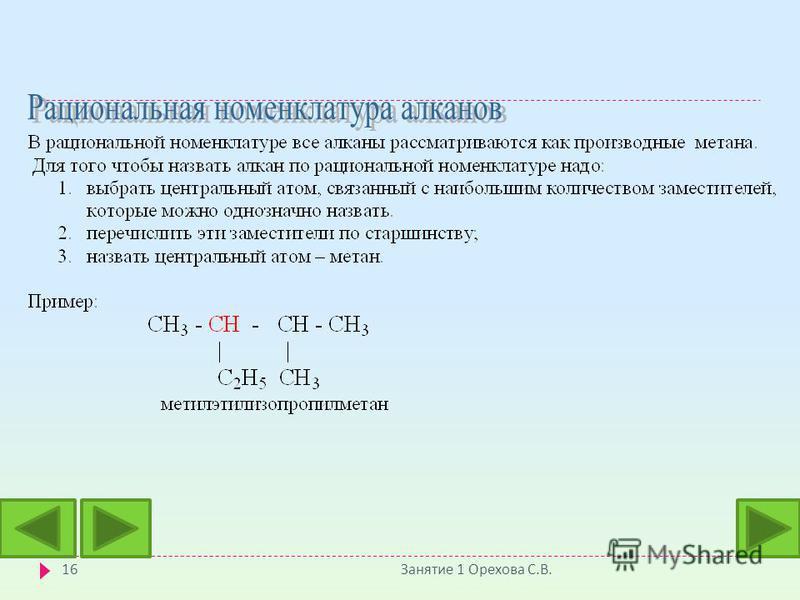 Занятие 1 Орехова С. В. 16