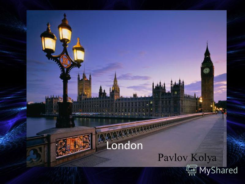 London Pavlov Kolya