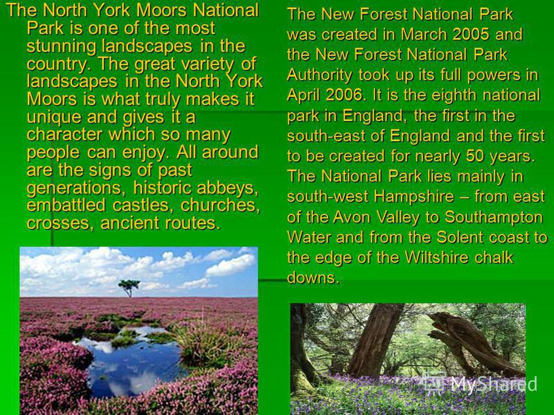 The North York Moors National Park is one of the most stunning landscapes in the country. The great variety of landscapes in the North York Moors is what truly makes it unique and gives it a character which so many people can enjoy. All around are th