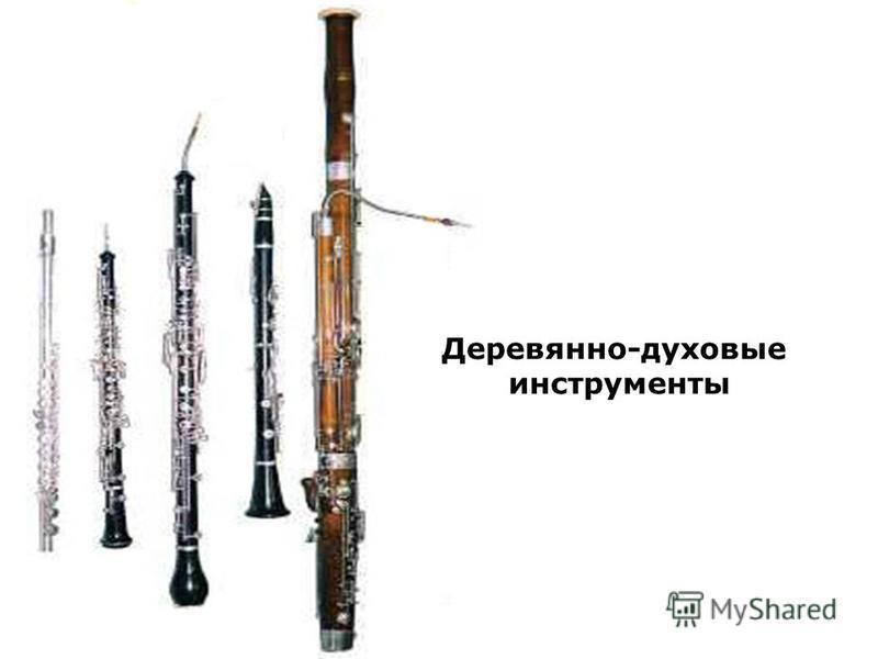 Деревянно-духовые инструменты