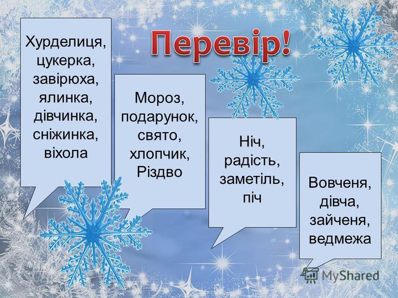Хурделиця, цукерка, завірюха, ялинка, дівчинка, сніжинка, віхола Мороз, подарунок, свято, хлопчик, Різдво Ніч, радість, заметіль, піч Вовченя, дівча, зайченя, ведмежа