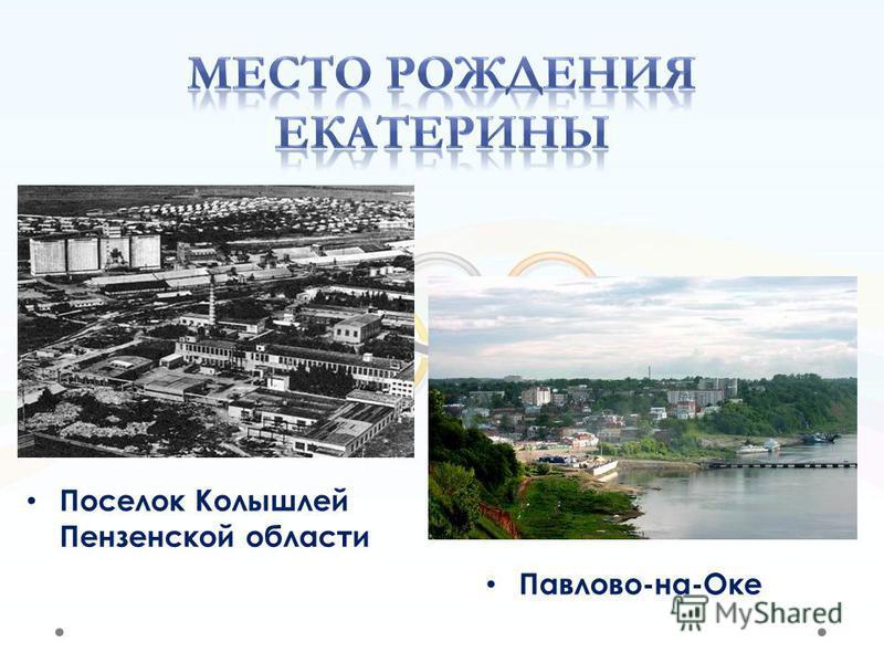 Павлово-на-Оке Поселок Колышлей Пензенской области