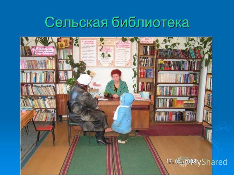 Сельская библиотека