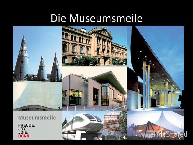 Die Museumsmeile